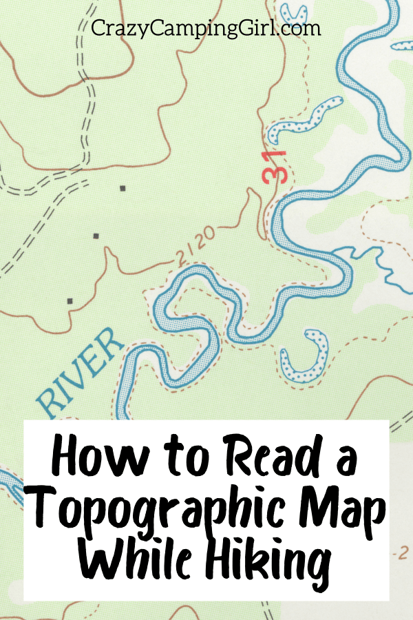How to Read a Topographic Map While Hiking picture of a map