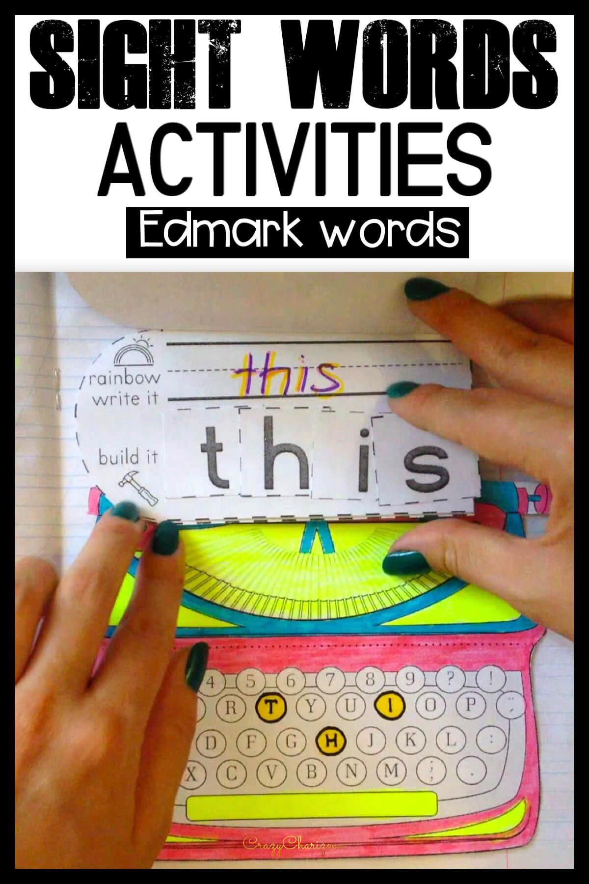 Edmark Sight Words Level 1
