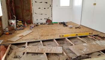 How to Hang Joists By Yourself • Crazy Chick DIY