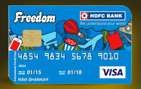 HDFC Freedom Card