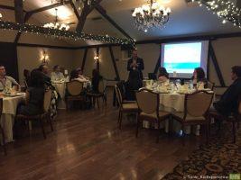 Welcome Dinner w/ Michael Yang, President Janssen Immunology, speaking