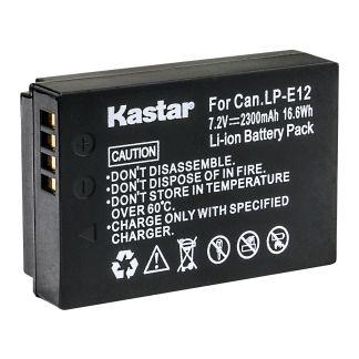 Kastar Replace Camera Battery for Canon LP-E12 LC-E12 LPE12 Canon EOS M50 Camera