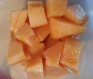 Fresh Cut Cantaloupe