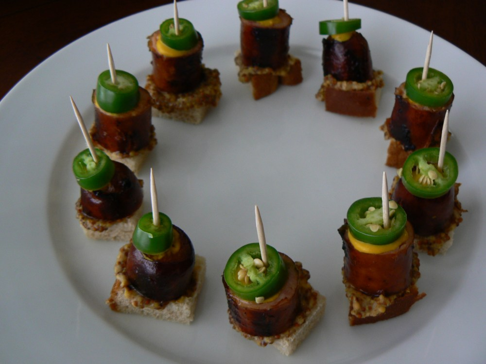 Bratwurst Football Appetizer (3/3)