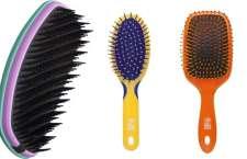 Com cores vibrantes as escovas MARCO BONI são ideais para carregar na bolsa.