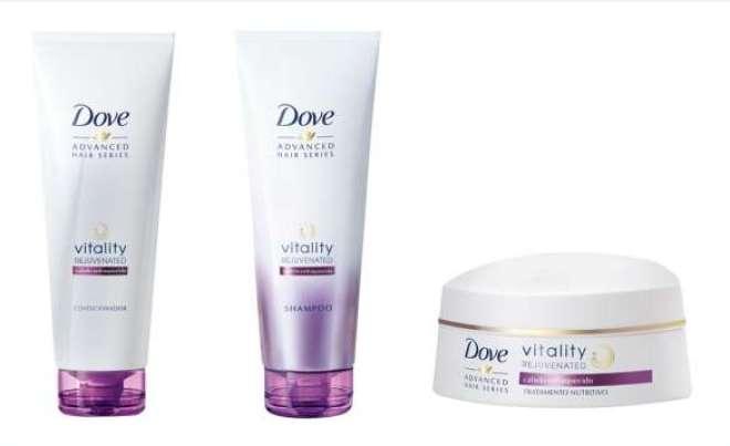 Nutrindo e fortalecendo os fios, a linha Vitality Rejuvenated ajuda a repor os nutrientes que o cabelo pode perder ao passar dos anos.