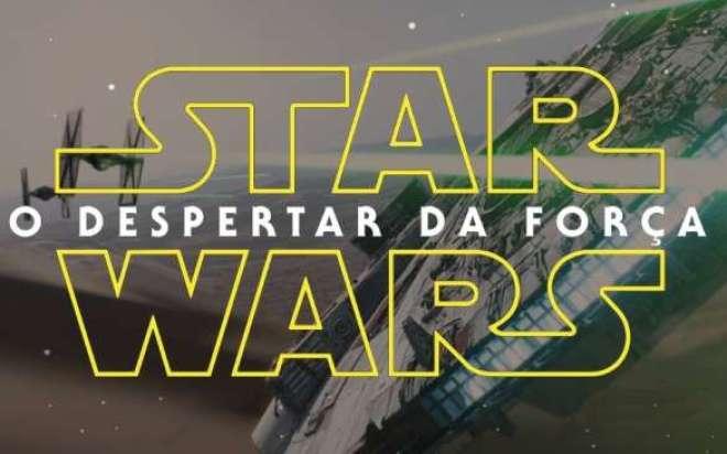 Star Wars: O Despertar da Força, trem estreia marcada para o dia 17 de dezembro de 2015 nos cinemas.