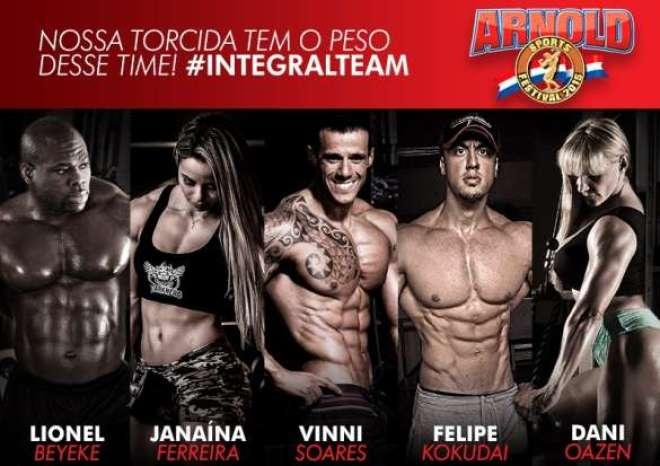 Marca tem patrocínio anual de Dois milhões para a plataforma de bodybuilding. #INTEGRALTEAM marca presença na competição.