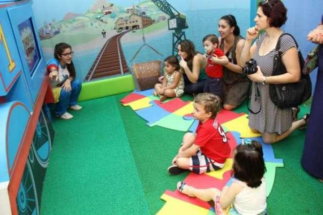 Exploração Discovery Kids oferece percurso de atividades criativas e brincadeiras lúdicas até o dia 1º de março - Crédito: Fábio Benedicto