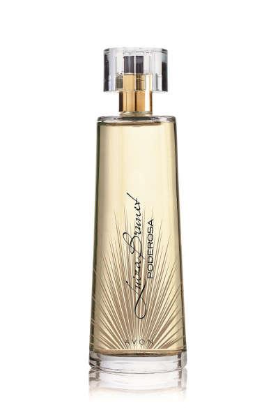 Luiza Brunet Poderosa, que chega agora ao mercado, é o primeiro Deo Parfum de Luiza Brunet.