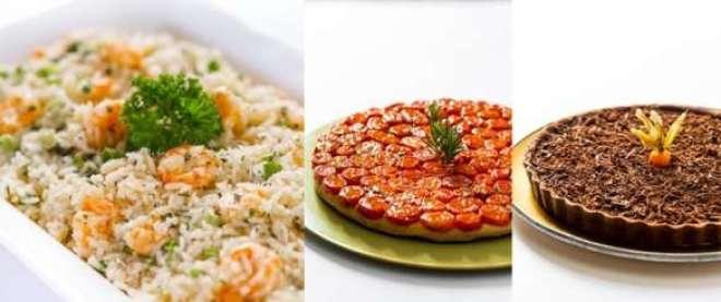 chef Philippe, do Philippe Gourmet, a delicatessen do Philippe Bistrô, em Moema preparou diversas opções, sob encomenda, para o feriado.