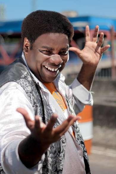 O ator, compositor e cantor carioca Sérgio Loroza: uma das atrações do Baile do Movimento, selo da Multicase.