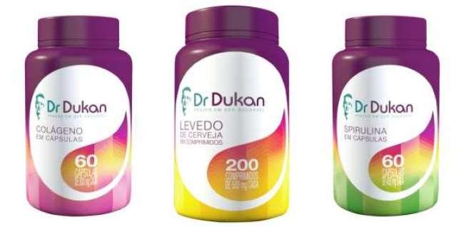 Colágeno, levedo de cerveja e spirulina passam a integrar a linha Dr. Dukan.