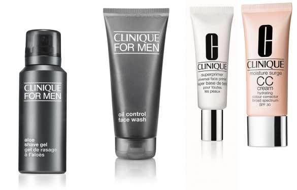 Para a beleza, o Beauty artist, Luiz Mufato, propôs uma pele iluminada e super fresh utilizando produtos Clinique.