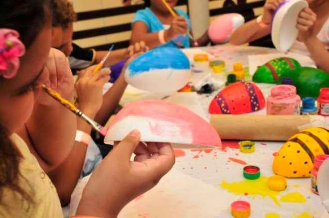 Atração gratuita será realizada no Espaço Kids até dia5 de abril.