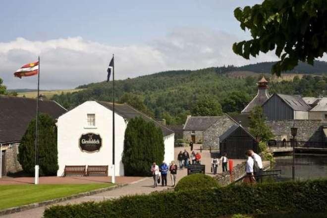 A destilaria está localizada nos highlands, ao norte da Escócia, na região conhecida como Speyside.
