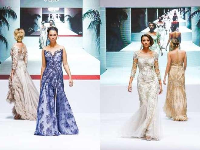 Com desfile dia 28 de maio, em Brasília, designer coloca os cristais checos em evidência no cenário de criação em moda noiva.