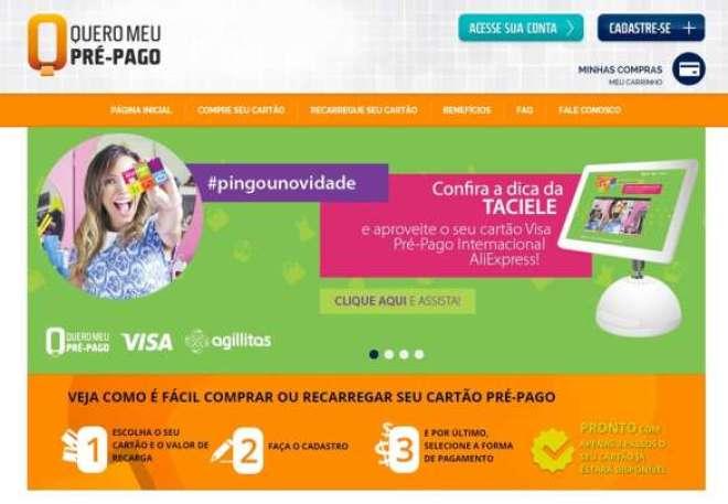 No www.queromeuprepago.com.br o consumidor poderá realizar uma operação completa que vai desde a emissão do cartão até a realização de recargas, consultas de saldos e extratos.