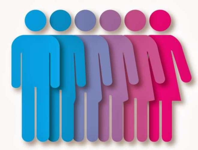 Ação reforça a importância de igualdade entre mulheres e homens.