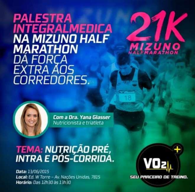 Meia maratona acontece neste domingo na Capital Paulista. Marca promove palestra sobre nutrição esportiva no sábado dia 13 na Expo.
