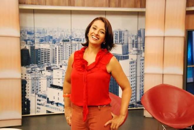 A partir desta semana, os telespectadores do programa poderão acompanhar o novo figurino da apresentadora.
