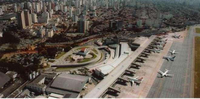 Movimentação no aeroporto de Congonhas (SP) cresceu 10,57%. (Foto: Infraero)