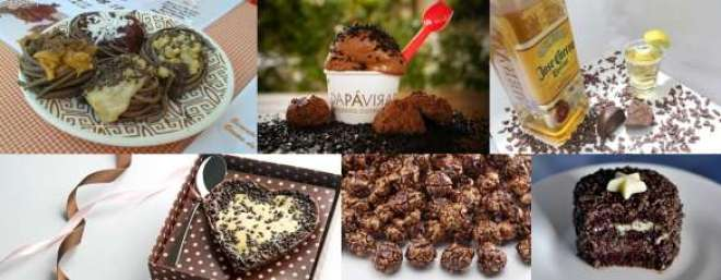 Várias iguarias feitas com chocolate também estão confirmadas no evento.
