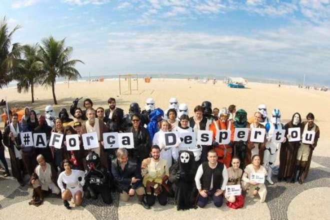 Diversos estados participaram de ações que celebraram o 'Star Wars Force Friday' nesta sexta-feira (4).