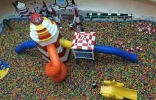 Os adultos poderão se divertir durante a noite com escorregador gigante, música e mais de 200 mil bolinhas coloridas. Os ingressos estarão disponíveis a partir de 8 de setembro.
