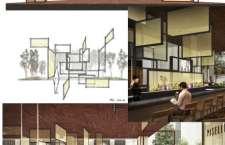 """Esse novo ambiente foi criado no estilo """"Restaurant in the Garden"""", um espaço confortável que explora a atmosfera ao ar livre."""