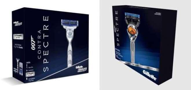 A partir de 10 de outubro, os consumidores podem comprar o pacote SPECTRE/Gilette Mach3 e, a partir de 10 de novembro, o pacote SPECTRE/Gillette Fusion ProGlide com a tecnologia FlexBall.