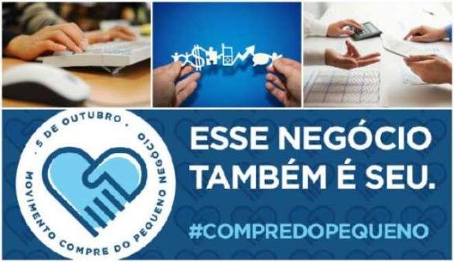 Movimento Compre do Pequeno Negócio busca incentivar o consumo de produtos e serviços de micro e pequenas empresas.