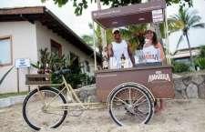 """Bikes da """"Amarula Summer Spirit"""" vão passar pelas praias da região durante o feriado prolongado apresentando um cardápio de drinks super refrescantes."""