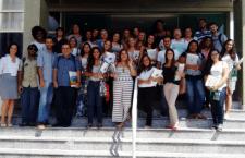Estudantes solicitaram visita à Embratur para conhecer estrutura do Instituto e ações do turismo brasileiro no exterior.