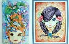 """Com a curadoria do renomado artista Walter Nomura, o """"Tinho"""", a primeira exposição será com a grafiteira Katia Suzue."""