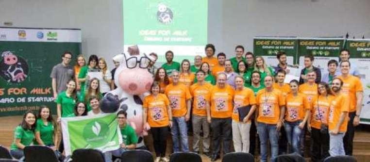 Participantes da final local do Ideas for Milk, realizada dia 28 de novembro em São Carlos. (Foto: Renan Alcântara)