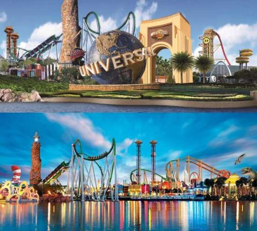 O acesso às celebrações de final de ano do Universal Orlando está incluído na admissão regular aos parques temáticos.