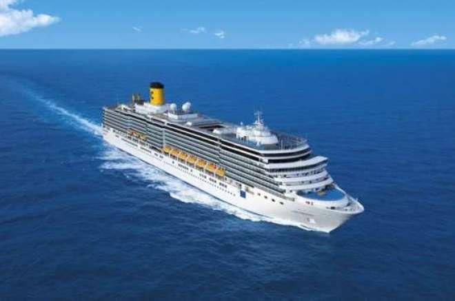O mega navio Costa Fascinosa sairá do Rio de Janeiro para cruzeiros pela região do Prata.