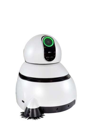 O Airport Cleaning Robot da LG é um aspirador robô de dimensões industriais.