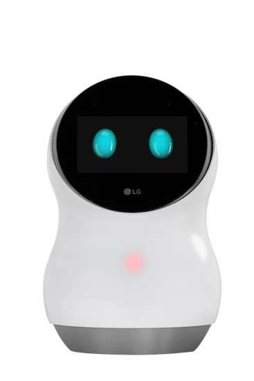 O Hub Robot está equipado com um display interativo capaz de mostrar uma série de informações.