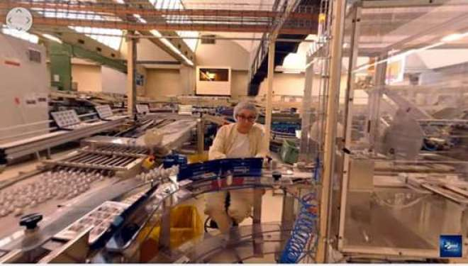 Baci Perugina disponibiliza vídeo 360° apresentando parte da cidade e da sua fábrica de chocolate.