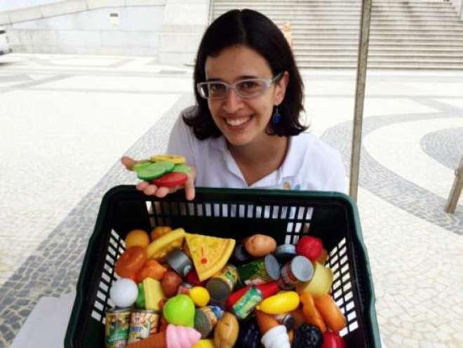 A nutricionista Nathália Donato, do Chefe de Papinha. (Foto: Fabiana Honorato)
