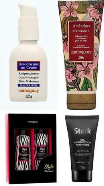 Marca oferece produtos que cuidam da beleza feminina e masculina.