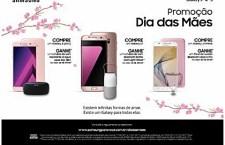Empresa convida consumidores a presentearem as mães com aparelhos das linhas Galaxy S7, Galaxy A 2017 e Galaxy J7 Prime.