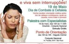 19 DE MAIO - DIA DE COMBATE À CEFALEIA