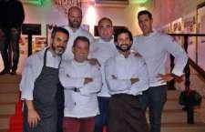Henrique Sá Pessoa, José Avillez, Miguel Laffan, Rui Paula e Rui Silvestre, cinco chefs portugueses distinguidos com estrelas Michelin, juntam-se a Vítor Sobral para uma experiência de sabores de excelência a bordo dos aviões da TAP.