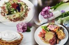 Expoflora – Salada de flores, cotovelo de porco e Bouquet Burger estão na gastronomia da edição 2018