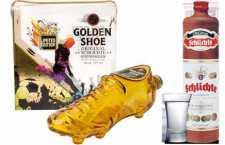 Schlichte Golden Shoe e Valentine´s Day: celebre o amor com garrafa em homenagem a paixão nacional brasileira