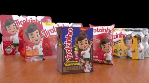 Tirolzinho, linha infantil da Lacticínios Tirol, apresenta novidades aos pequenos consumidores de todo o Brasil