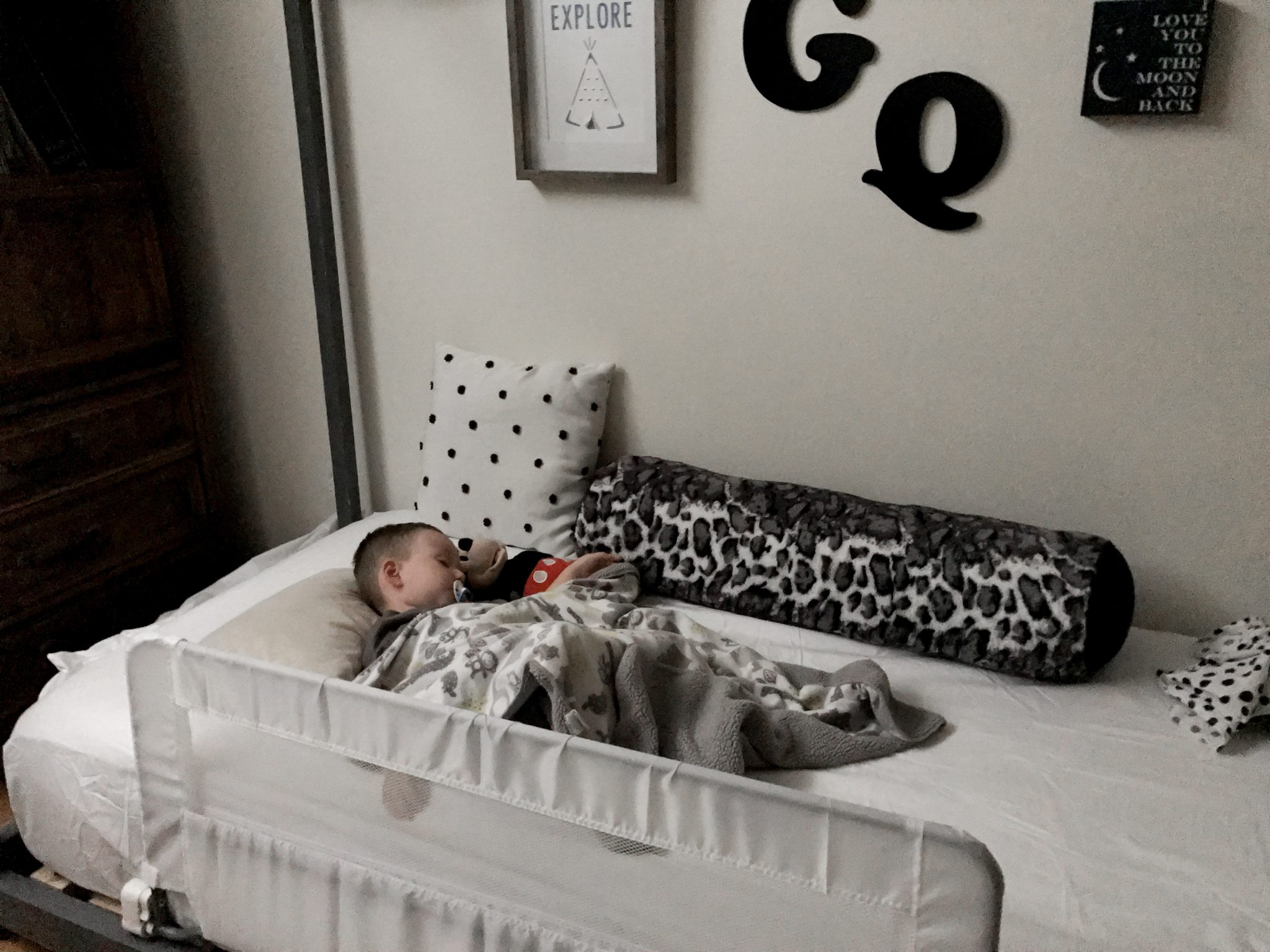 transitioned from crib, transitioning to toddler bed at 18 months, when to transition from toddler bed to twin bed, how to keep toddler in bed, transition to toddler bed supernanny, when do i convert crib to toddler bed, co sleeping to toddler bed, toddler climbing out of crib, toddler bed age limit